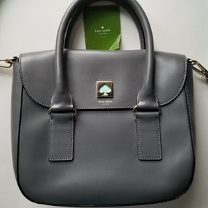Kate Spade grey leather purse